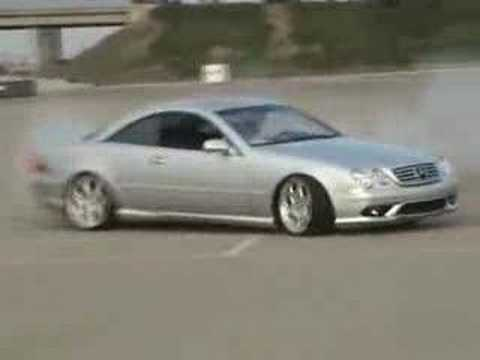 Mercedes Benz CL 55 AMG Burnout Video