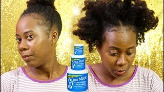 Blue Magic Update: Healthy Hair due to Blue Magic Hair conditioner