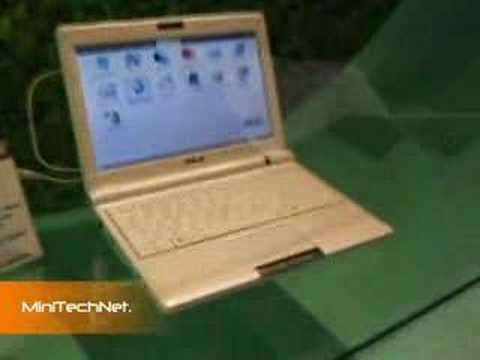 ASUS EeePC 901 Netbook - CEBIT 2008 (EN)