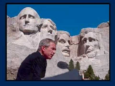 Bush at Rushmore