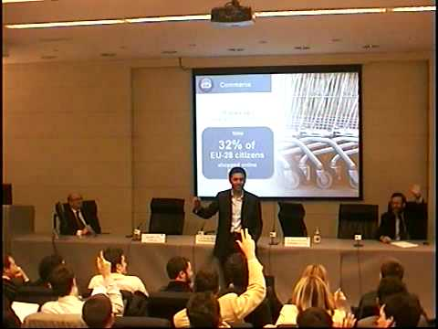 Nikesh Arora at IE Business School in Madrid