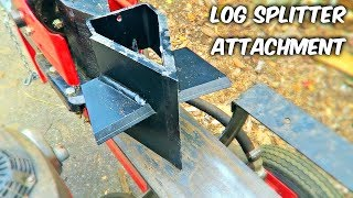 Log Splitter Attachment You Must Have!