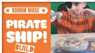 Building Pirate Ship From Lowe's  -  Wooden Toy Kit