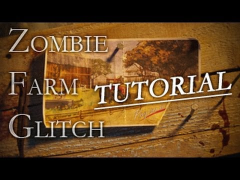 Black Ops 2 Zombies: Farm Survival Glitch (Tutorial)