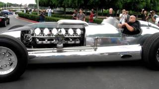 Beastly Tank Engine Car at Cars and Coffee in Irvine
