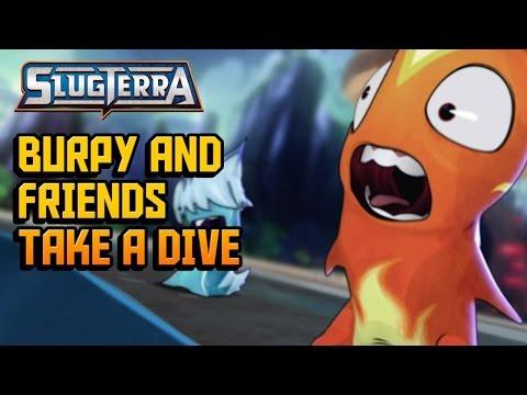 Slugterra Slugisode 40 Burpy and Friends Take a Dive