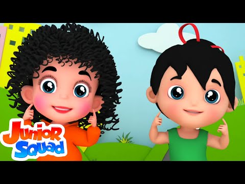 Junior Squad | Chubby Cheeks | Nursery Rhyme | Baby Rhymes | Kids Videos | 3D Rhymes |
