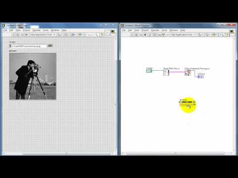 NI LabVIEW: Auto-resize a picture indicator