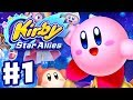 Kirby Star Allies - Gameplay Walkthrough Part 1 - Dream Land 100%! (Nintendo Switch) thumbnail