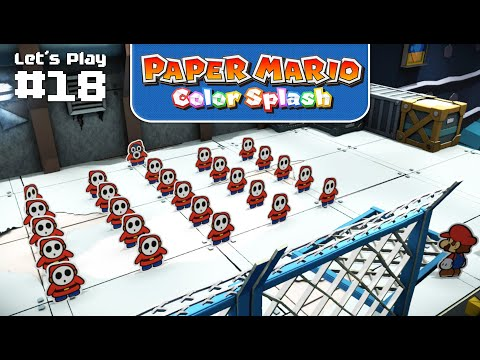Massenkloppe am Kobalt-Kai • Paper Mario: Color Splash #18 ★ Let's Play