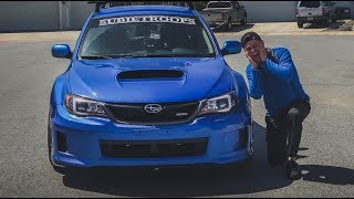 The WRX Finally Gets Some Goodies!