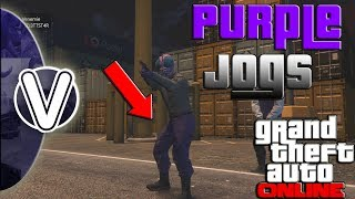 GTA 5 Online | How To Save The Purple Or Orange Joggers 1.44 (GTA 5 Online Glitches)
