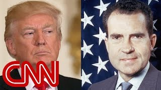 Trump is sounding a lot like Nixon during Watergate