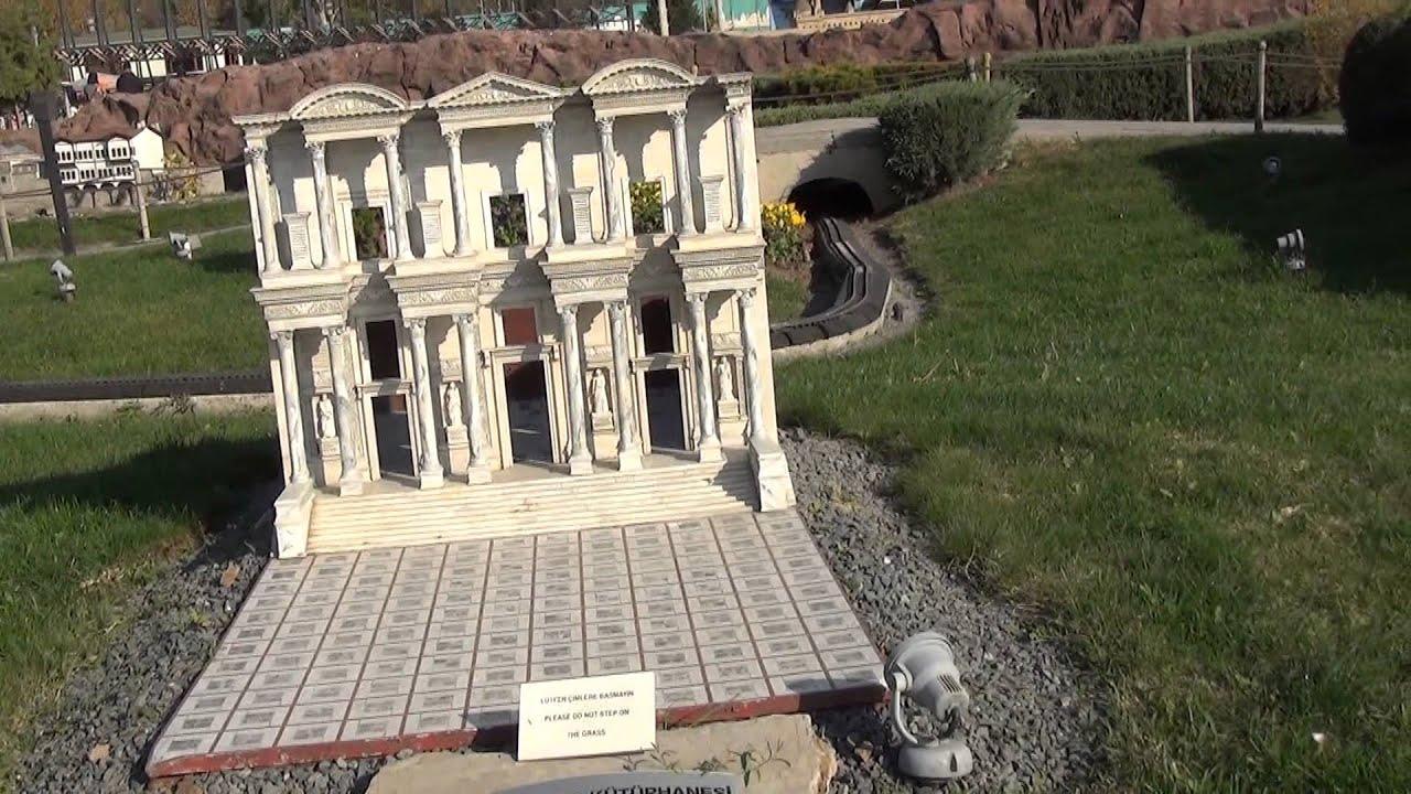 Istanbul Miniatürk Park, The Celsus Library of Ephesus ...