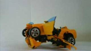 Transformers Animated Theme Song in Stop-Motion