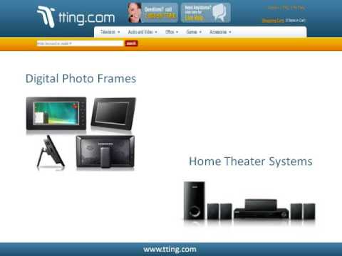 Samsung Products - TV, DVD Players, Digital Photo Frames by Tting.com