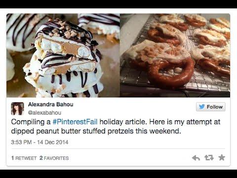 #PinterestFail: When holiday treats and crafts go bad