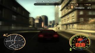 Прохождение Need for Speed Most Wanted заезд на мустанге