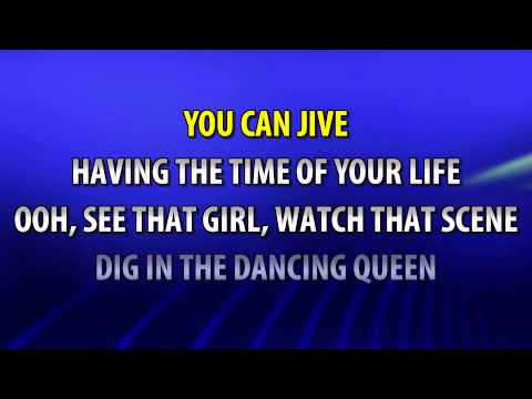Abba - Dancing Queen Karaoke HD