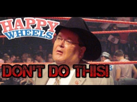 Happy Wheels - WWE Commentary - DON