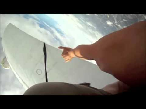 Wow...these guys avoid skydiving plane crash