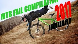 MTB fail compilation 2017 January