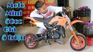 Duy Thường - Mua Xe Moto Cào Cào Mini 50cc Giá 5 triệu