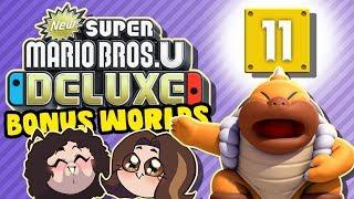 Super Mario Bros U Deluxe (BONUS WORLDS): Dan Talks Tunes - PART 11 - Game Grumps