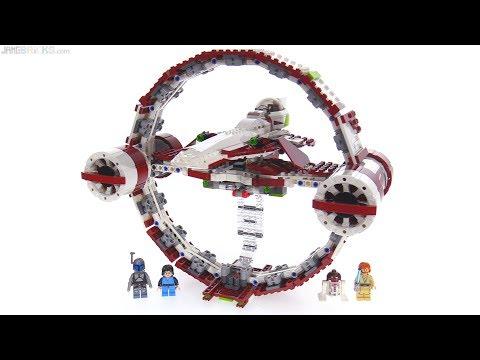 LEGO Star Wars Jedi Starfighter + Hyperdrive review! 75191