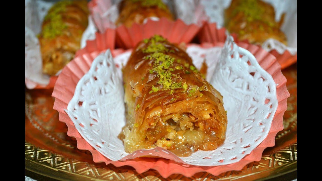 Baklava Recipe Turkish Baklava Rolls Recipe