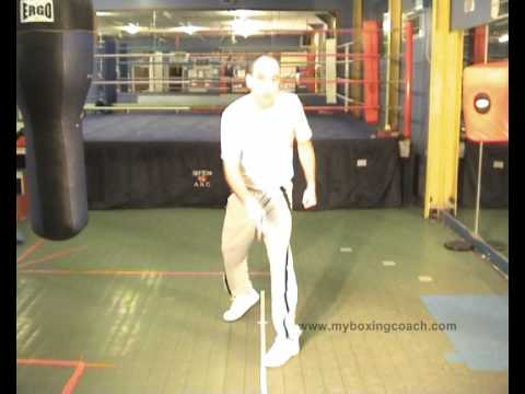 Boxing Techniques - Boxing Footwork - Moving In and Out Image 1