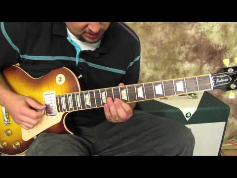 How To Play Lead Electric Blues Guitar Solo Skills Lesson - Pentatonic Scale
