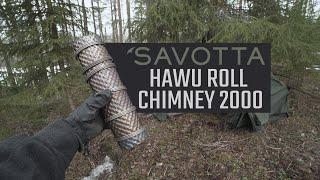 Proper Tip, how to use Savotta Hawu roll chimney 2000