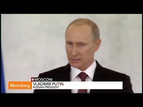 Putin Calls for Russia to Annex Crimea