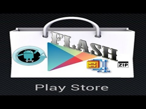 How to flash Roms. Gapps packages & .zip files through ClockWorkMod. CyanogenMod. Play Store Fix!