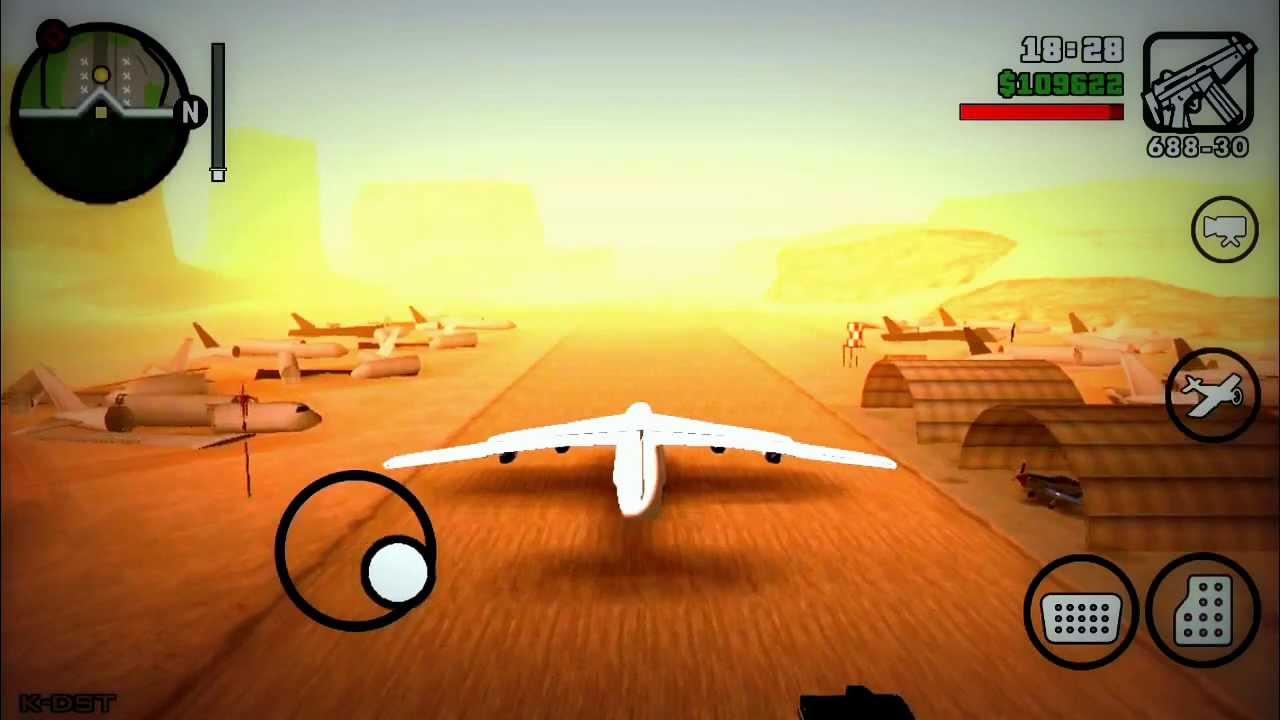 GTA San Andreas HOW TO GET ANDROMADA Secret Cargo Plane