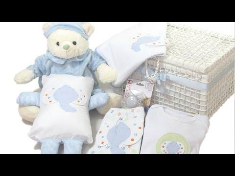 Montagem e Decora��o de Cestas para Presente - Cesta de Beb�