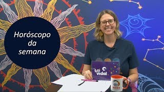 Horóscopo da semana - 12 a 18 de maio de 2019 - por Titi Vidal