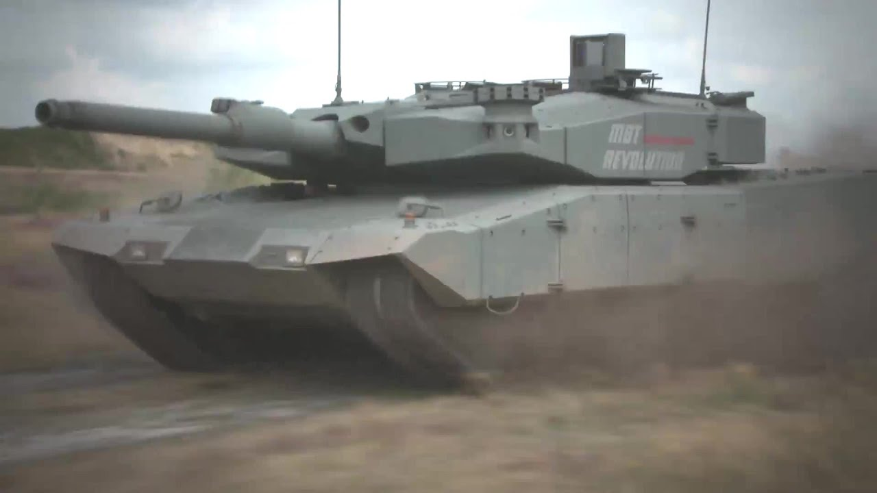 Rheinmetall Defence Leopard 2 Mbt Revolution 1080p