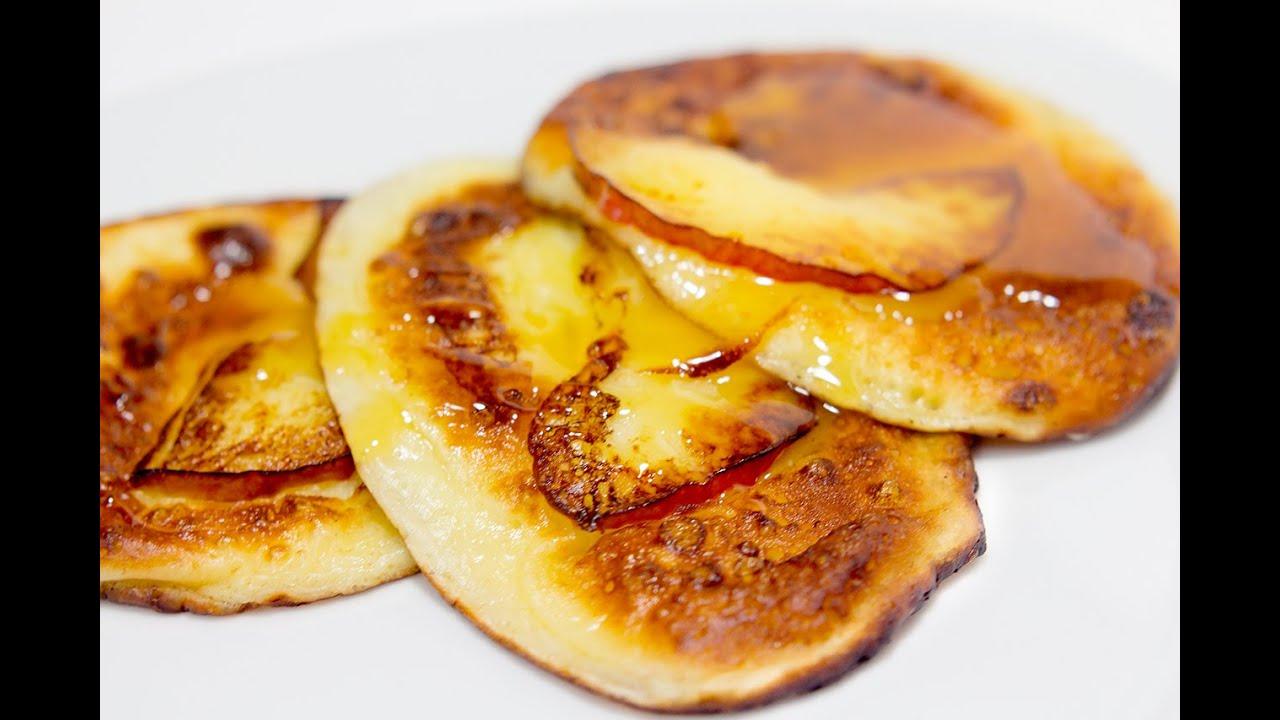 Яблочные оладушки в духовке рецепт
