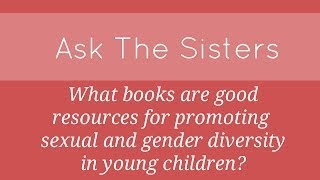 What books are good resources for promoting sexual and gender diversity in children?