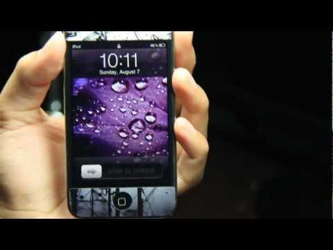 How to Change the Color of the Slide to unlock Text On your iPod Touch - iPhone - iPad