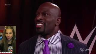 WWE Raw 4/30/18 Titus World SLIDE interview