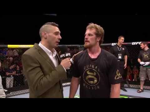 Fight Night Dublin Gunnar Nelson Octagon Interview