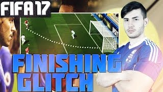 FIFA 17 DRIVEN FINISH GLITCH TUTORIAL - HOW TO SCORE ALL CHANCES