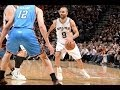 tony parker puts up a double double in game 1!  Picture