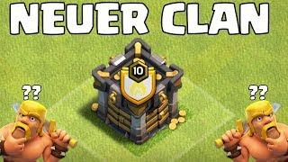 MEIN NEUER CLAN! ☆ Clash of Clans ☆ CoC