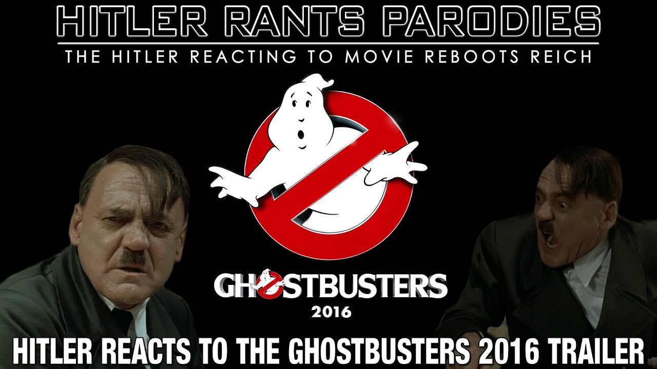 Hitler reacts to the Ghostbusters (2016)