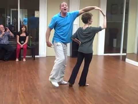 West Coast Swing Instructional Demonstration with Instructor Louis Schreiber 5/21/13