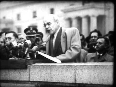 Przemówienie Władysława Gomułki I Wiec Na Placu Defilad W Warszawie W 1956r.